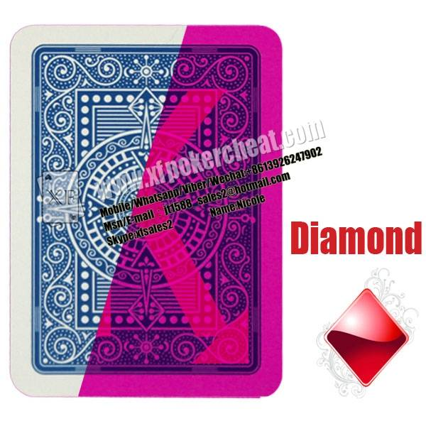 Gambling Italian Modiano Texas Holdem Plastic Marked Cards Poker