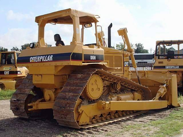 Used Caterpillar D6H Bulldozer in Good Condition