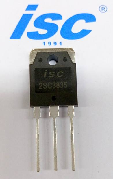 ISC silicon NPN power transistor 2SC3835