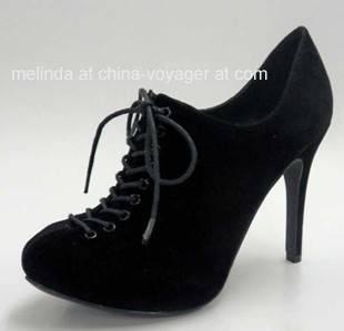 Black Lady Fashion Shoes
