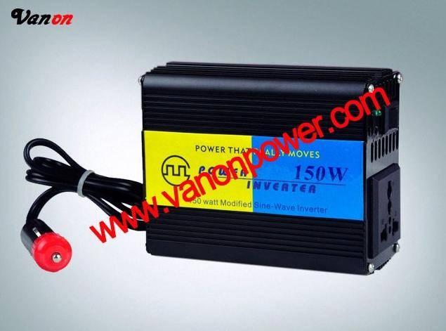 12V150W Car power inverter (peak power 300W/modified sine wave/110v or 220v output) CE,ROHS