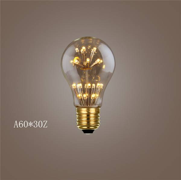 DC12V DC4.5V decorated led bulb starry light bulb E12 E27