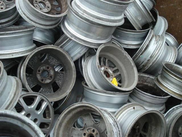 Aluminium Alloy Wheel Scrap