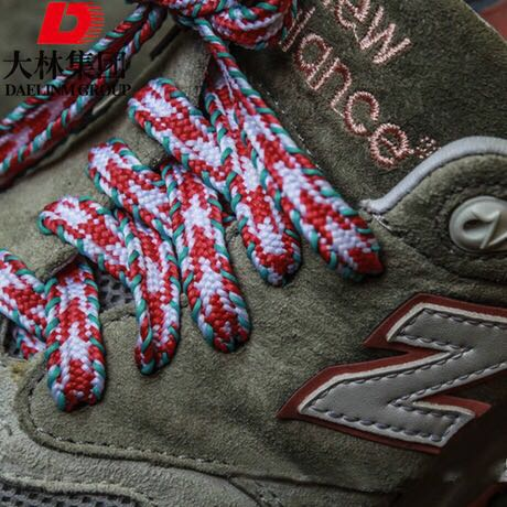Manufacturer of flat colorful elastic shoelaces for sports shoe, clothing,hats