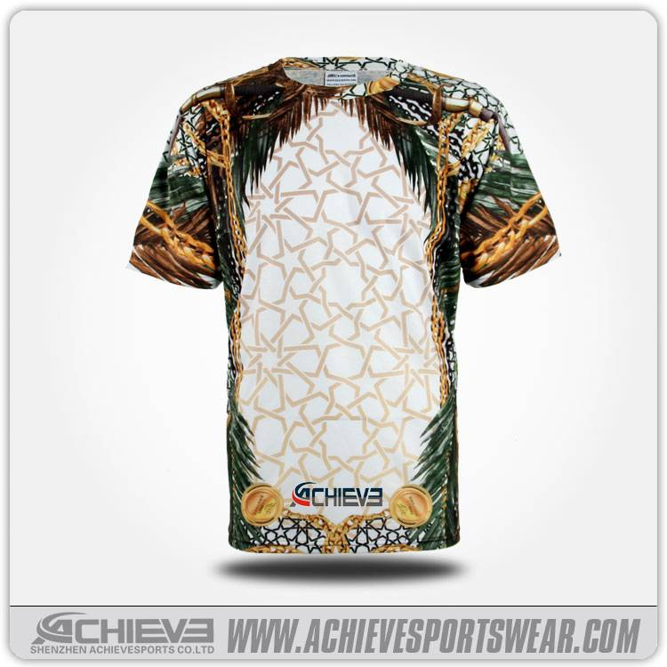 Custom T Shirt with Printing /Sublimation T Shirt Softextile