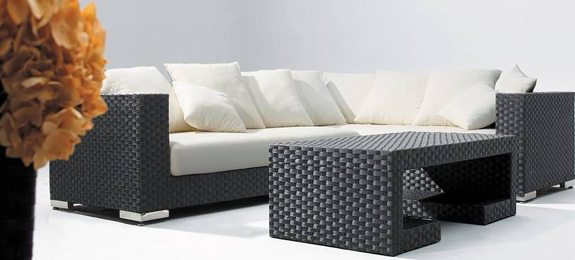 Evensun New Fashionable rattan sofa set