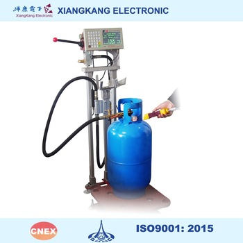 LPG filling machine for tank or gas cylinder