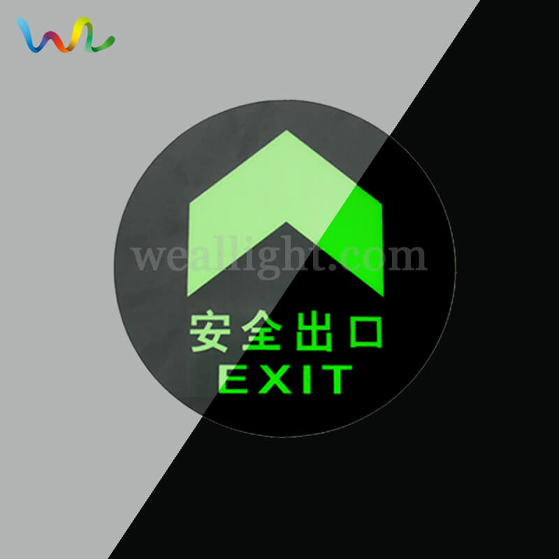 Printable Exit Sign, emergency evacuation signs, green exit sign