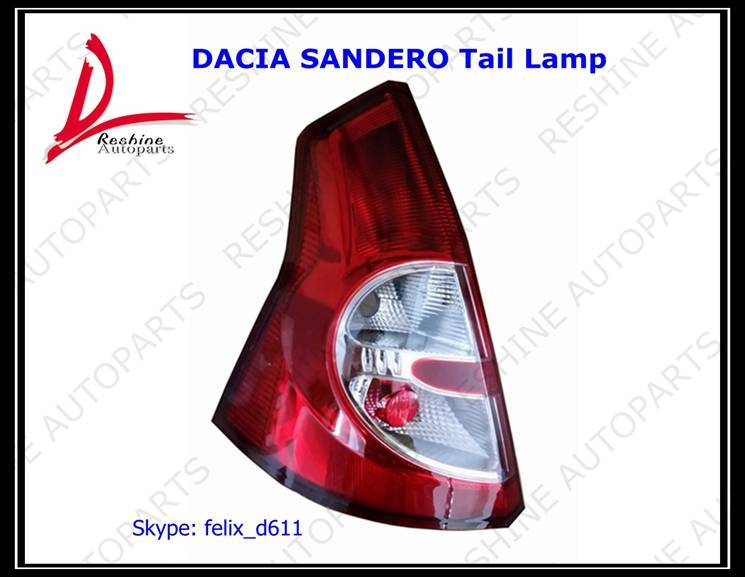 Dacia Sandero tail lamp auto parts for Renault