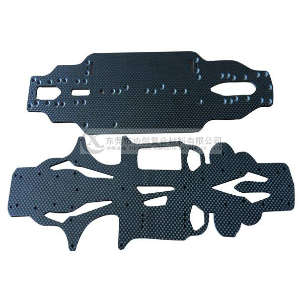 High Strength Carbon Fiber RC Toys Chassis