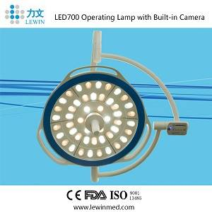 FDA/CE/ISO approved Single head surgical operating LED light as hospital Instruments LED700