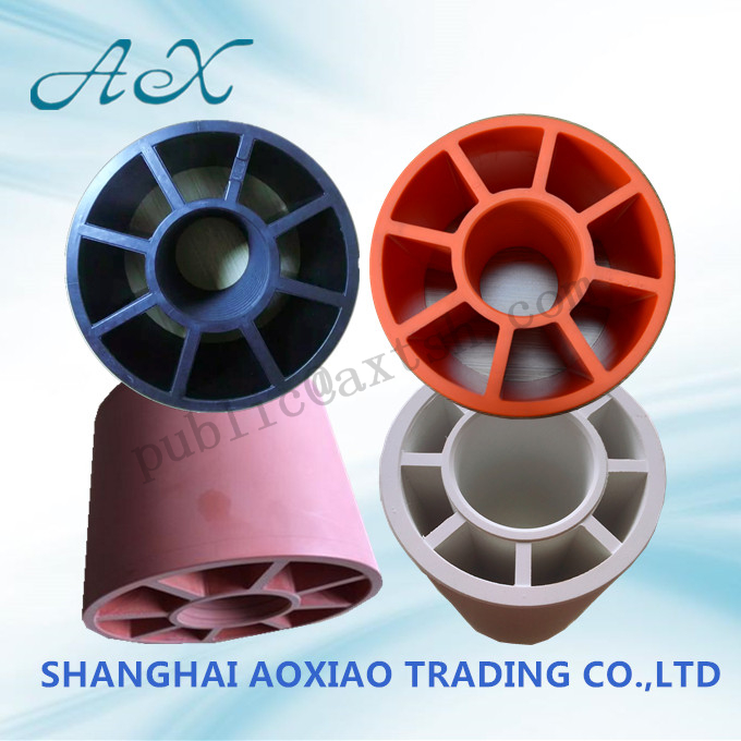 Shanghai Aoxiao mainly produces small plastic tube core for bill rolls, plastic plug baffle, automat