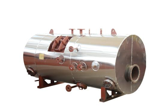 1000KW /2000KW Natural Circulation Exhaust Gas Boiler Threaded Tube Boiler