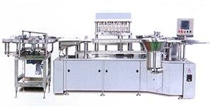 KGS16(A) Linear filling and Stoppering Machine