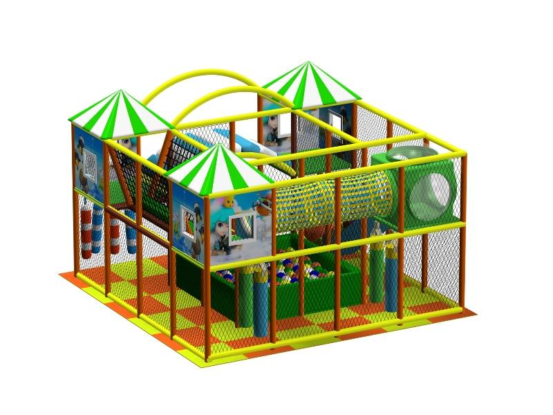 Modern Plyaground Equipment Indoor Adventure Castle WD-AD125