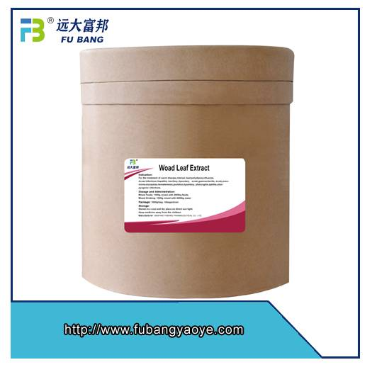 GMP manufacturer Woad Leaf Extract