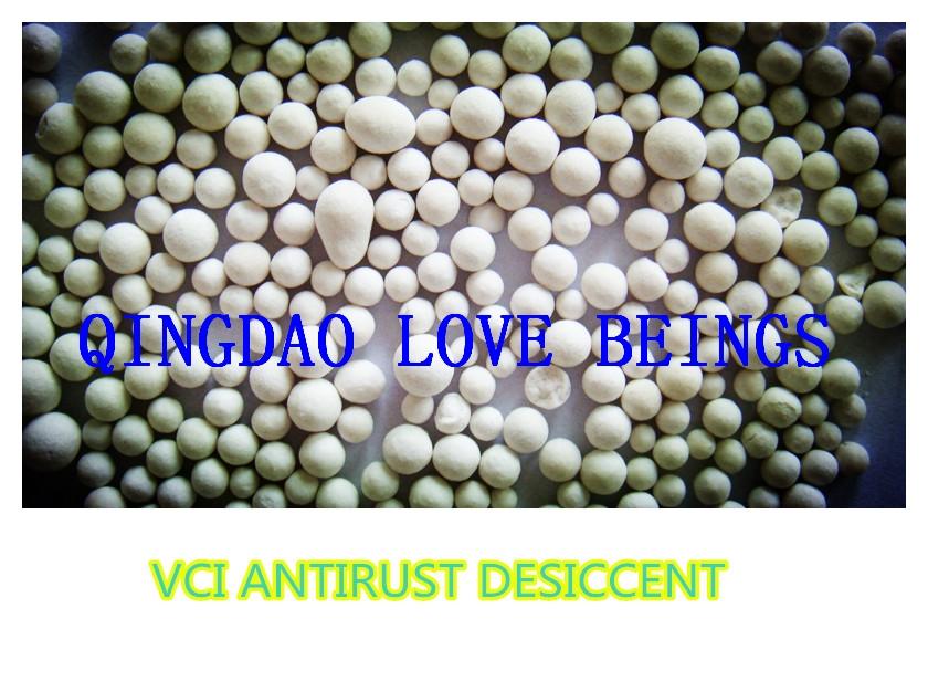 VCI antirust granule desiccant for metal sealed storage
