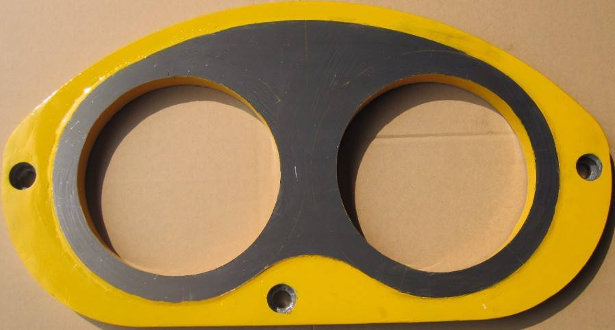 Kyokuto Concrete Pump Spare Parts Eye Glass Plate and Cutting Ring