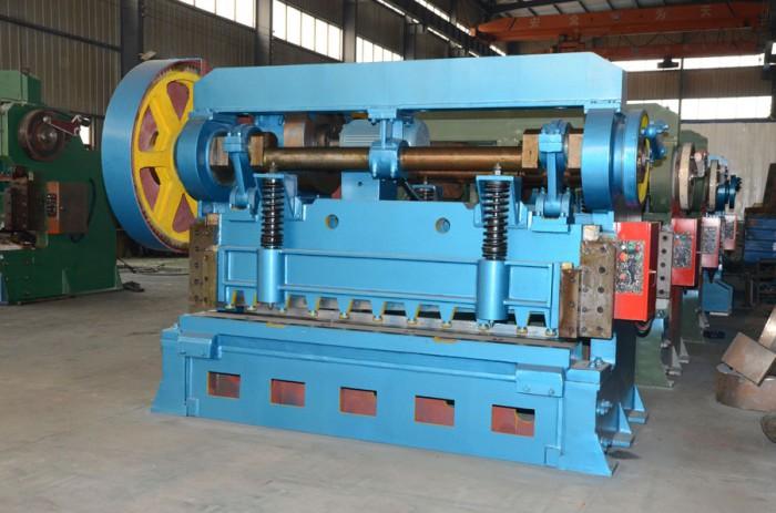 high speed shear machine in coil straightening machine line
