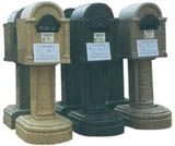 Stone Mail Boxes