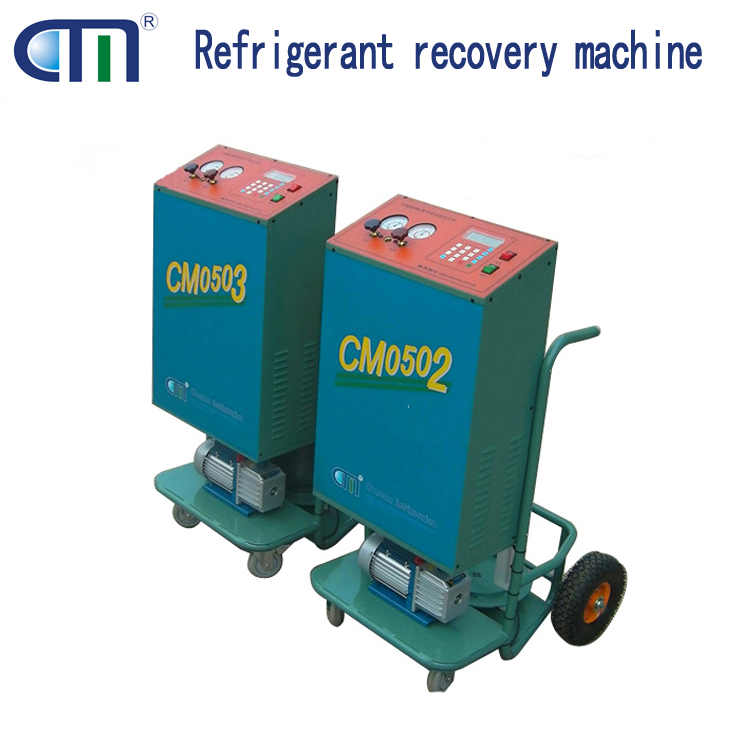 China factory auto refrigerant recovery recycling machine R410A CM05/06