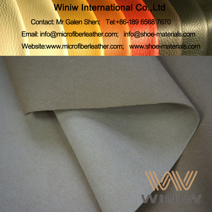 Breathable & Sweat Absorbent Microfiber Material for Shoe Lining