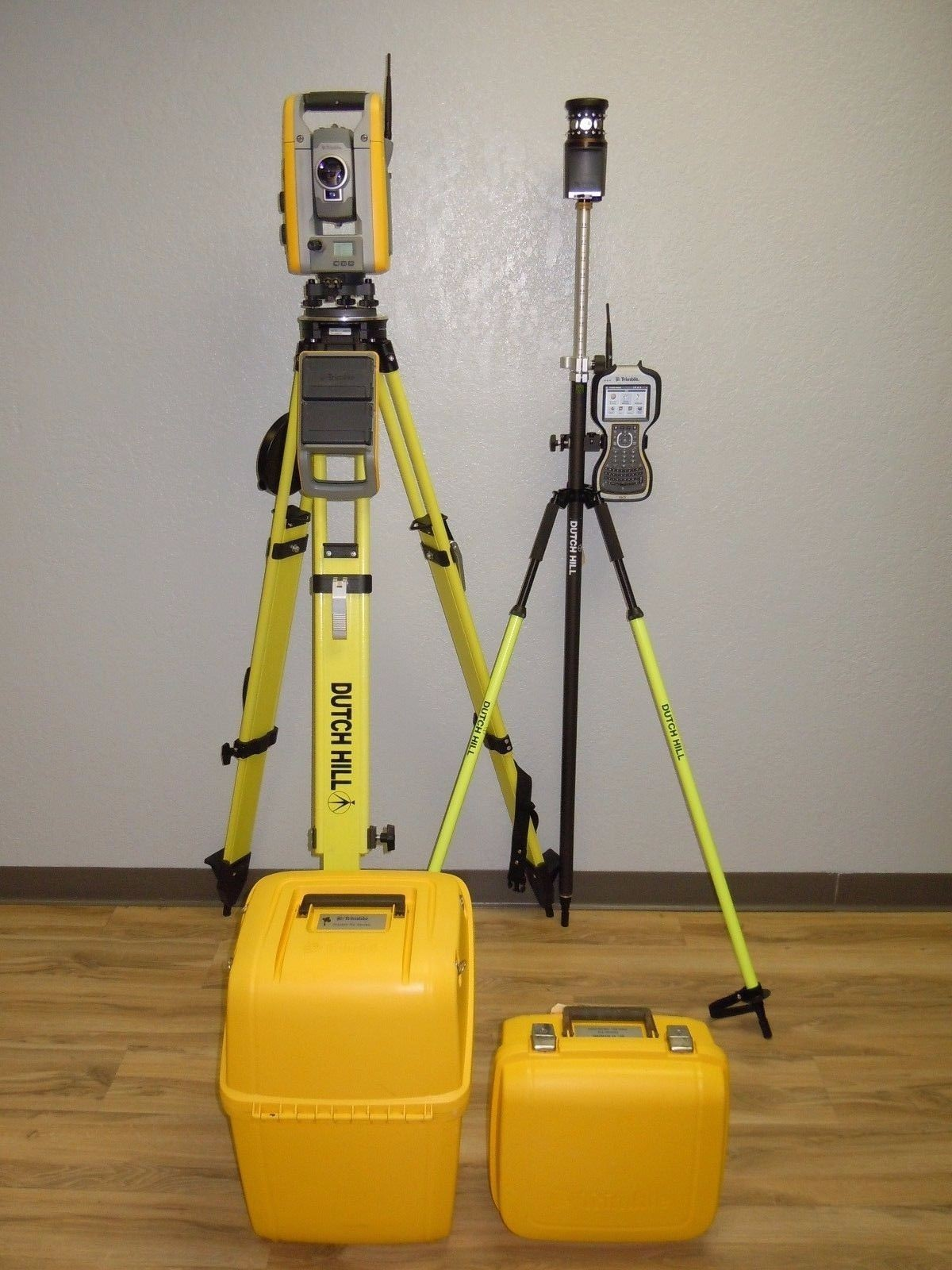 "Used Trimble S6 Robotic Total Station 3"" Sec DR Plus TSC3 Access MT100"