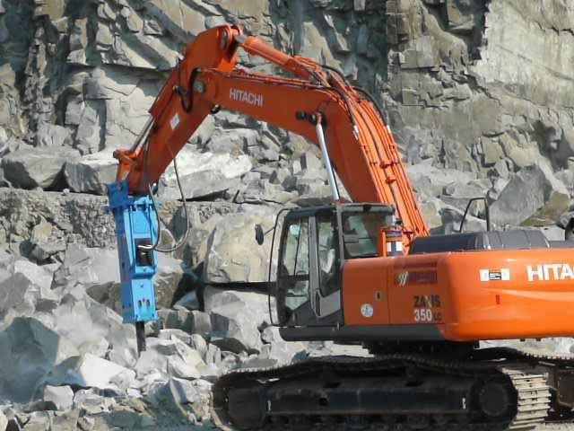hydraulic breaker for digger