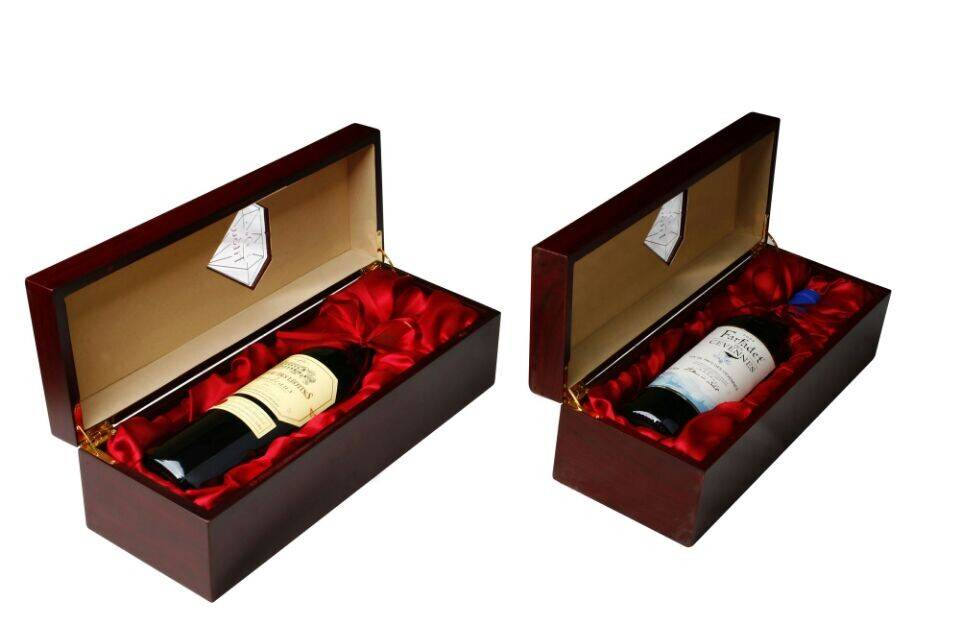 red wine packaging boxes