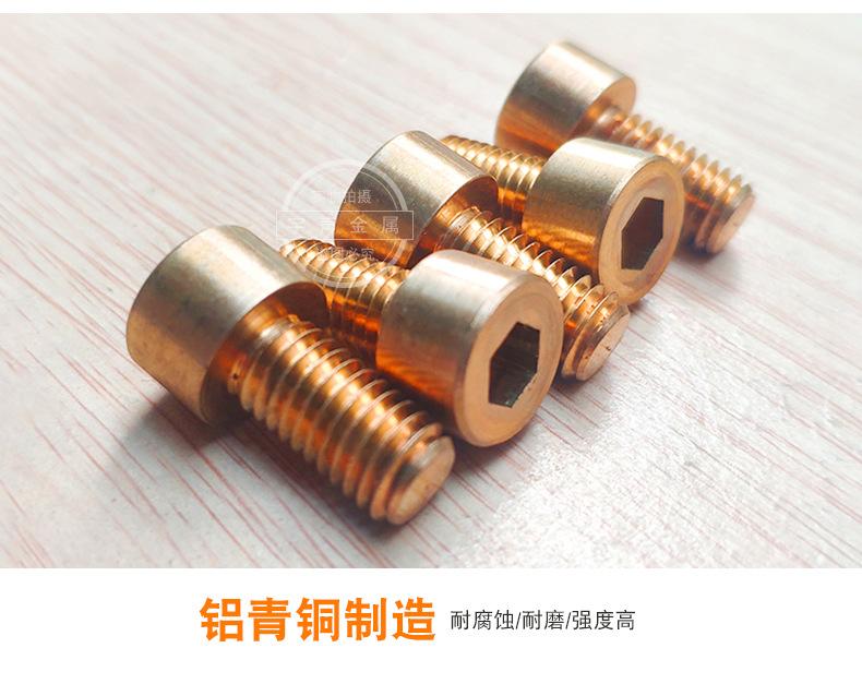 Aluminium Bronze Socket Cap Screws