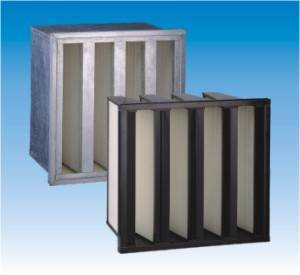 v-bank hepa air filter