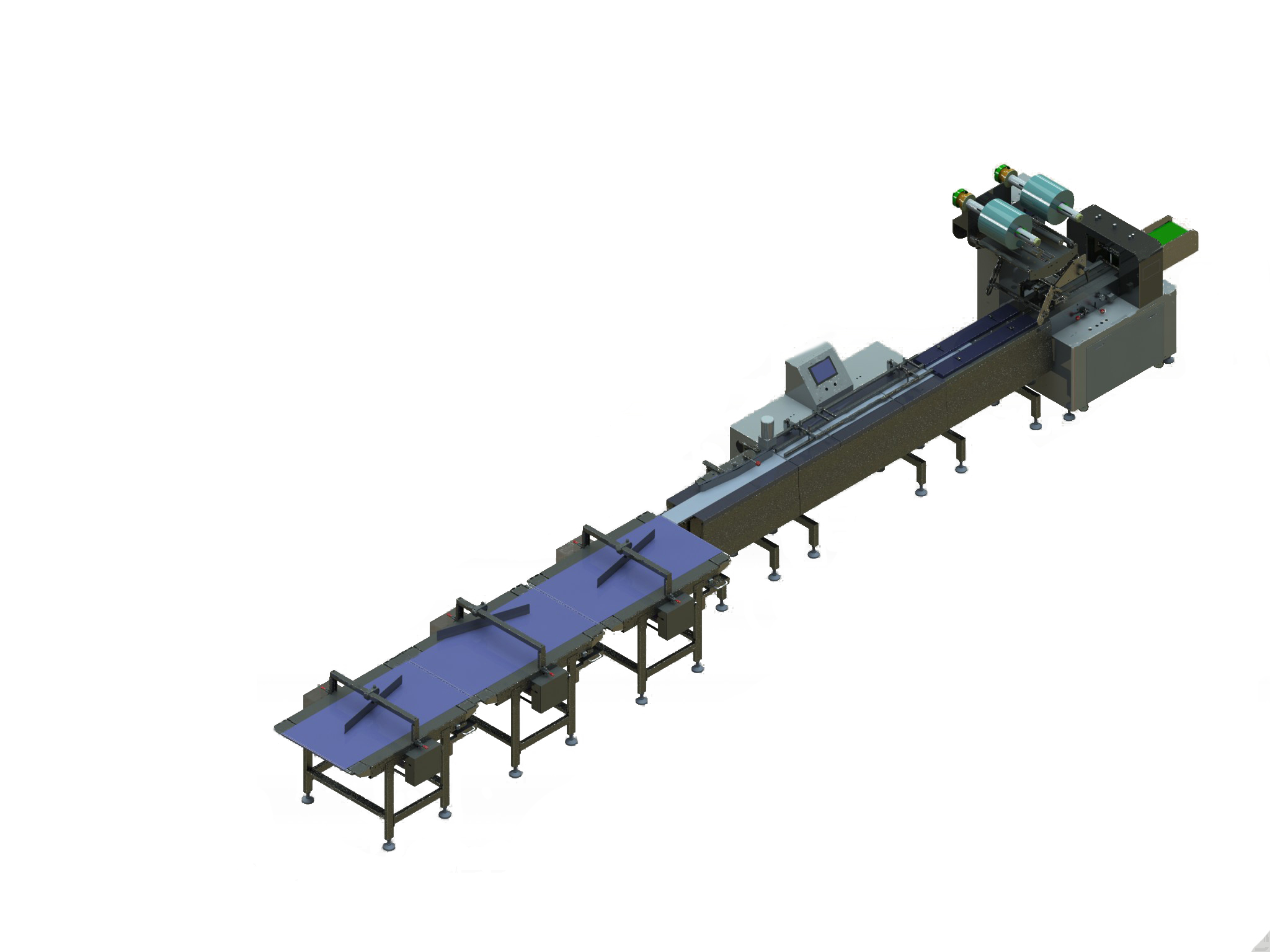 Single lane packing system