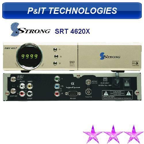 Strong 4620X DVB-S Digital Satellite TV Receiver