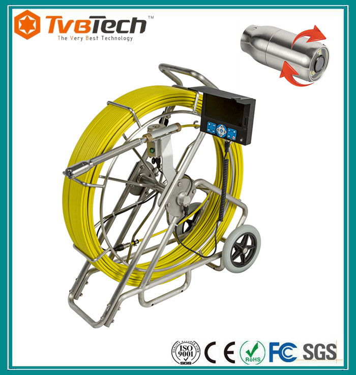 TVBTECH Waterproof pipe inspection self leveling camera for Sewer Inspection Camera