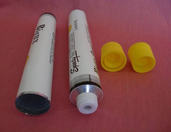 alkaline hair dye packaging tube