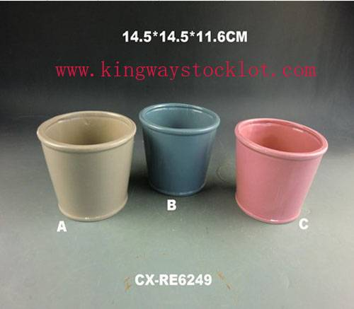 stocklot flower pot, overstock flower pot, closeout flower pot,surplus flower pot,liquidation flower