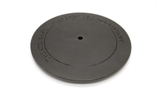 Customized gun black candle lid