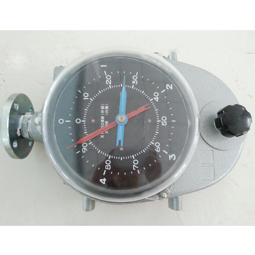 Float type steel belt level meter