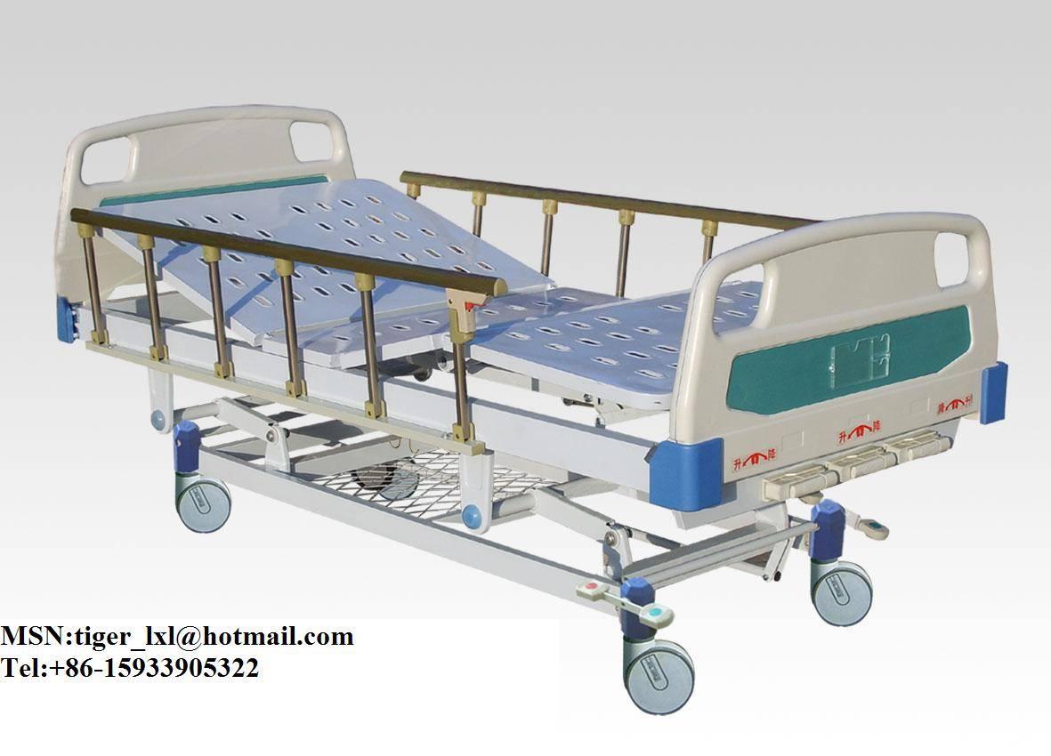 Movable Three Shakes Hospital BedA-6