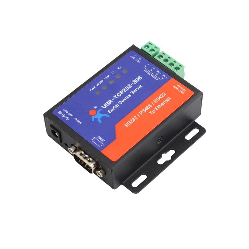 USR IoT Affordable Serial RS232/485/422 to Ethernet Converter