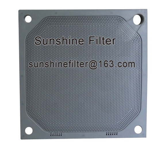 PP membrane filter plate