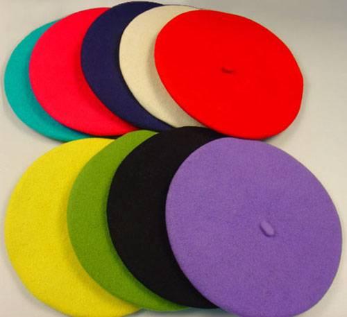 100% wool classic berets, fashion berets, fashion hat, cap