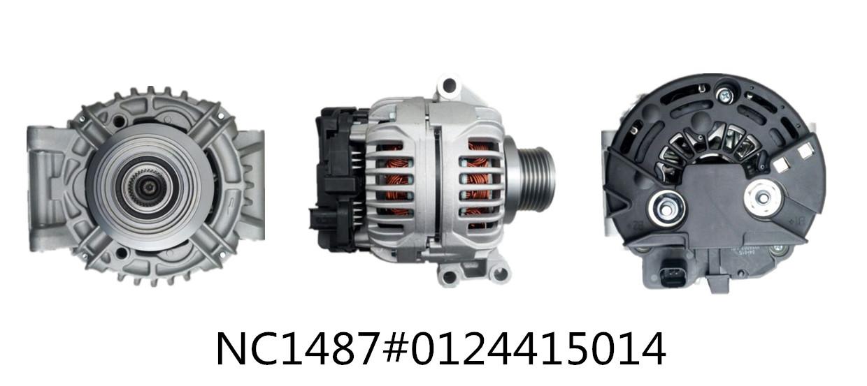 Commercial car Alternators NC1487 (12V 98A, 0124415014)