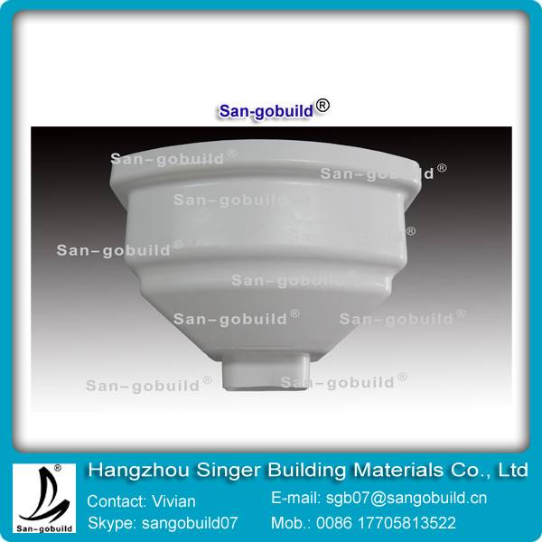 PVC Gutters for Plastics Rainwater Piping System