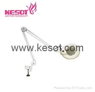 Cold light magnifier lamp  with clamp