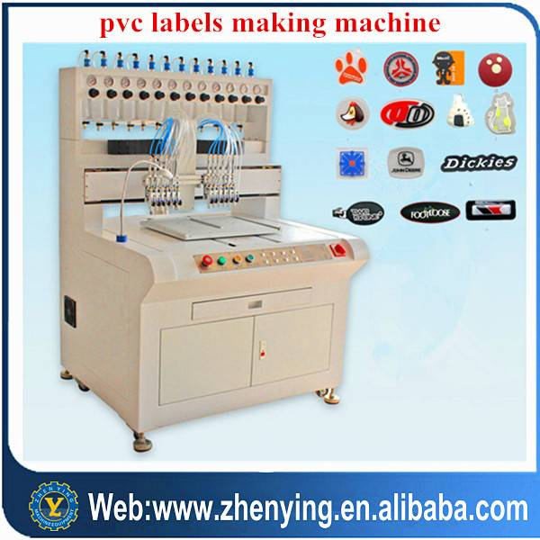 pvc labels making/dispensing machine