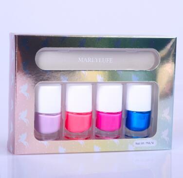 Nail polish for makeup
