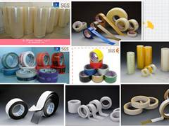 BOPP acylic adhesive clear packing tape