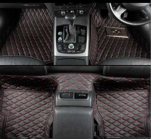 Right Hand Drive Car Mats with Heat Insulation XPE Material, Leather Car Mats, 5D Full Surround Car
