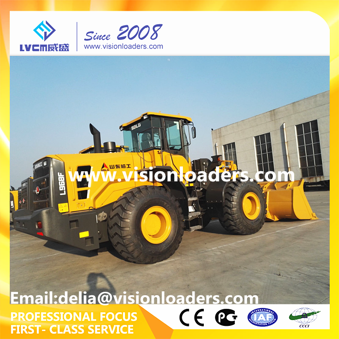 SDLG New Model L968F Wheel loader with VRT200 transmission instead of LG968 for sale